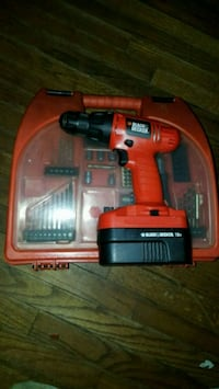 Black and Decker Drill set(missing charger) Halifax, B3K