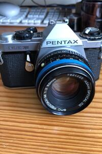 Pentax ME super film camera.