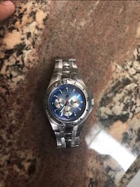Fossil silver watch fancy El Paso, 79938