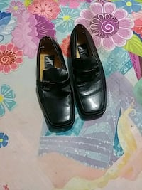 pair of black leather dress shoes Chattanooga