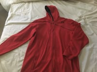 red Under Armour zip-up hoodie Sonora, 95370