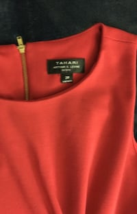 Red Color Dress by TAHARI Arlington, 22204