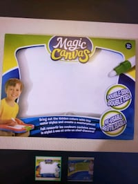 New magic canvas learning playset toy Toronto, M6K 1S6