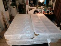 Cal. King Aireloom double sided pillow top and box spring mattress Las Vegas, 89183