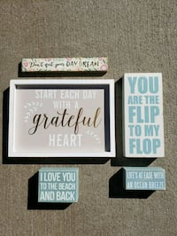 Set of Wood Frame Quotes by Francesca's Dallas, 75235