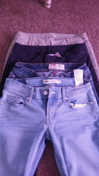 Blue name brand denim Jeans size 3 Anderson, 29626