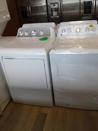 white washer and dryer set null