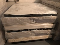 white and black bed mattress Chesapeake, 23323