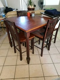 Nice table with four chairs.  Tucson, 85716