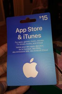 Selling iTunes card