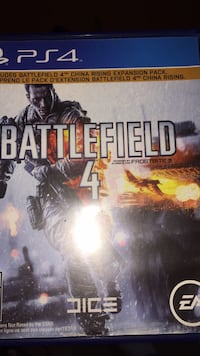 Battlefield 4 PS4 game case London, N6E 1L2