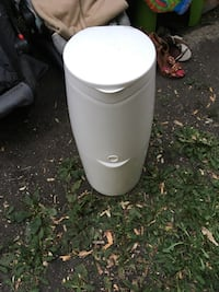 white and black plastic container Winnipeg, R2W 2N5