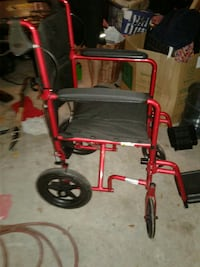 red and black wheelchair Dallas, 75233
