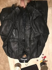 black leather zip-up jacket Natchitoches, 71457