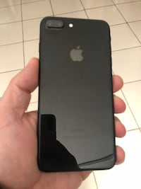iPhone 7 Plus 128gb Jet Black Unlocked with Kickstand Case Coral Gables, 33146