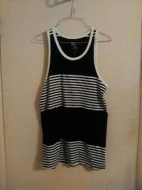 blue and white tank top Barberton, 44203