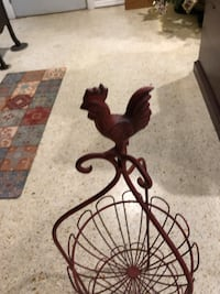 Rooster wire vegetable fruit holder Vero Beach, 32962