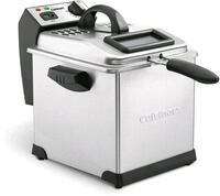 Cuisinart Deep Fryer, 3.4 Quart, Stainless Steel (NEW)