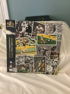Super Bowl 50 commemorative calendar never opened