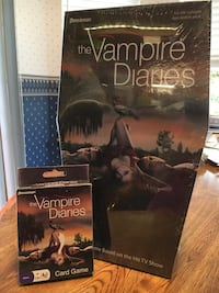 Vampire Diarie games. New never opened or used. 2350 mi
