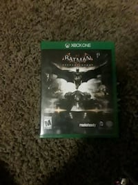 Xbox One Batman Arkham Knight game case 862 mi