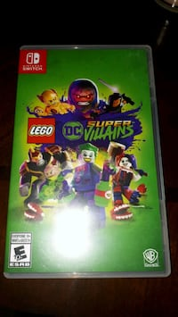 Nintendo switch LEGO DC SUPER VILLAINS Montreal, H1N 3G4