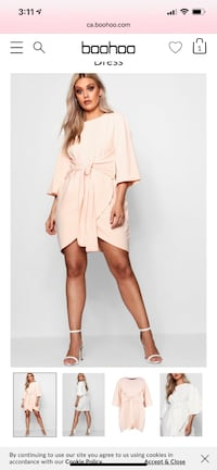 Selling 2 new dresses from BOOHOO  Laval, H7K 3W7