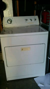 white front-load clothes dryer Colorado Springs, 80911