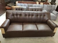Brown leather sofaset 3.1.1 only at 6999 Bengaluru, 560006