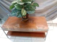Cherry and glass table Pembroke Pines, 33024