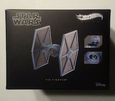 STAR WARS HOTWHEELS RED LINE CLUB TIE FIGHTER.