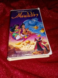 Aladdin VHS Movie Morro Bay, 93442