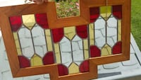 Awesome Framed Stained Glass La Plata, 20646