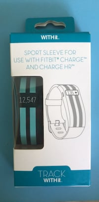 Track With It Sport Sleeve for Fitbit Charge & Charge HR. NEW North Vancouver, V7P 3M4