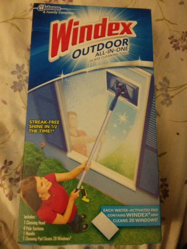 Windex outdoor all in one glass cleaning tool