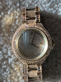 Michael Kors Camille Gold Tone Watch