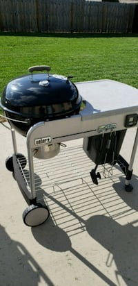 black and gray charcoal grill Republic, 65738