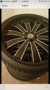 "Versante 24"" rims Willowbrook, 60527"