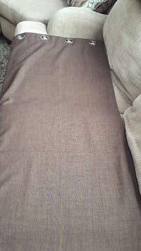 chocolate brown curtains Courtice, L1E 0C2