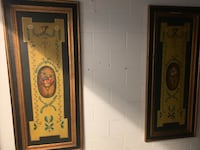 Two large Italian Hand Painted wall panel Toronto, M2R 3N1