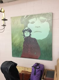 John Lennon G Clay portrait #101 out of 5000 4ft X 4ft Lexington, 40502