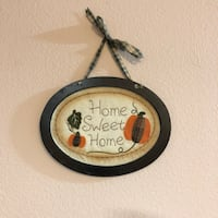 Fall Decor Home Sweet Home Door Sign Las Vegas, 89123