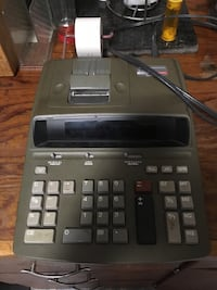 Adding machine with printer & 6 rolls paper Fort Atkinson, 53538