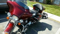 red and black touring motorcycle Marlow Heights, 20748