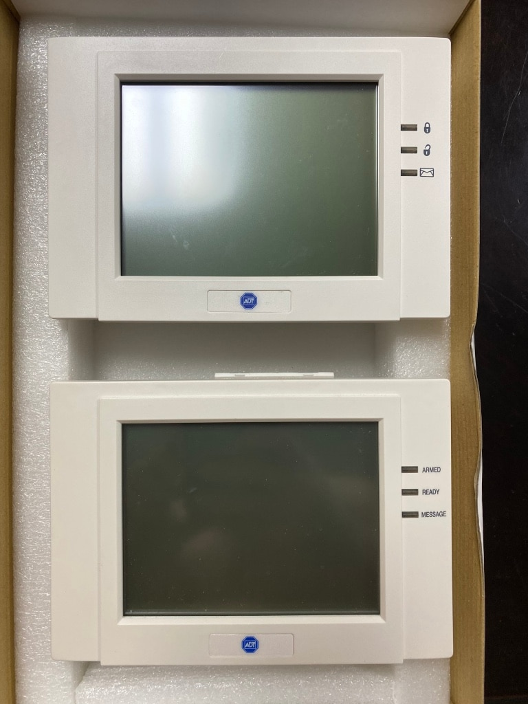 Photo Touchscreen (2) monitor for ADT security system