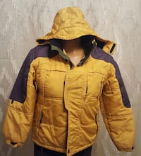 Thick jacket for kids, water resistant,, good cond