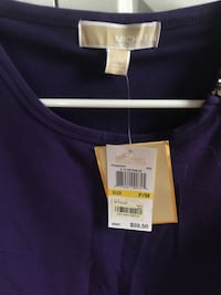 MK Michael Kors purple 3 quarter shirt Albany, 12211