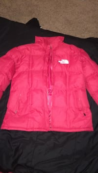 pink The North face zip-up jacket Fayetteville, 28314