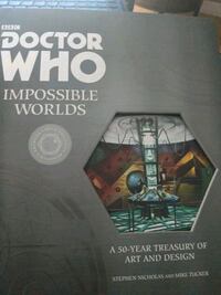 Doctor who impossible worlds artbook Toronto, M8Y 1Y4
