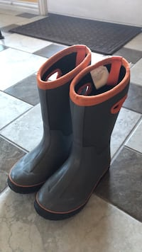 unisex youth snow boots